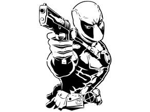 Deadpool stencil 2