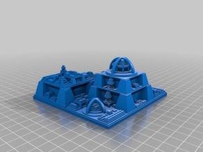 My Customized Futuristic city builder generator