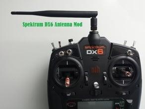Spektrum DX6 Gen2 Antenna Mod SMA Mount