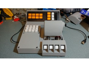 Simulator Throttle and Control Panel