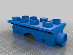 wood track magnet duplo train