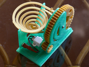 Motorised Marble Machine
