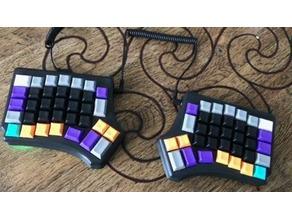 Travel-friendly Redox Keyboard