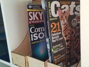 Laser Cut Magazine Holder
