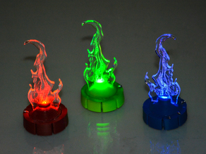 4 Stage Switch Example (RGB LED Candle Clix)