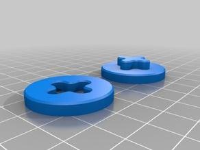 "XYZ Calibration circle with ""plus"" pattern"