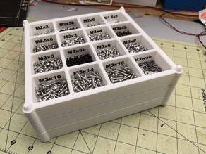 Stackable parts trays