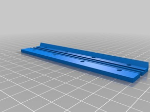 Glass clip for Wanhao i3 heated bed