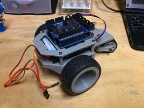 Arduino robot chassis