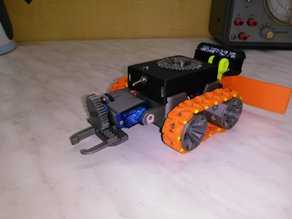 smars modular robot arm, blade