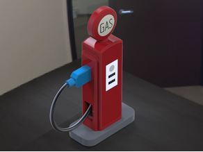 Gas Pump Phone Charger / Usb Holder