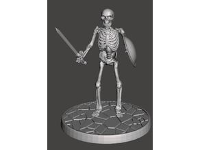 Children of the Hydra Skeleton With Sword - 28mm Miniature