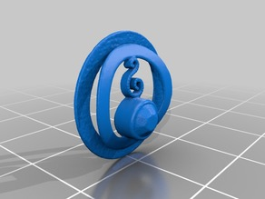 Pendant for a necklace - 3D Scan