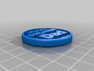 World's Greatest Dad Token