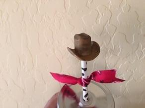 Cowboy Hat Pencil Topper