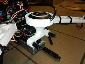 GPS Mount S500 quadcopter
