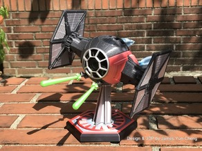 STAR WARS Episode VII - SF Tie Fighter for xaiomi、xaioyi Camera[ver.1.5]
