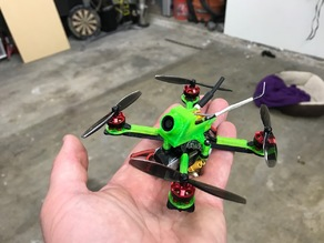 """QWNN"" : Quad With No Name - Micro Quad frame and canopy"