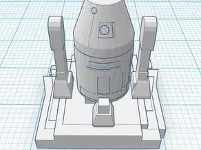 Starwars Droid DSLR Hotshoe Plug