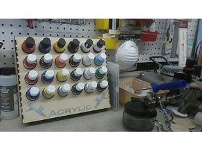6 x 4 Airbrush Paint Rack