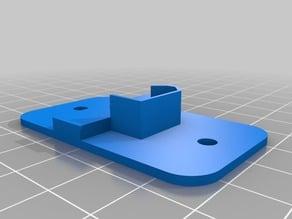 Kossel Delta XT60 Socket Bracket remix