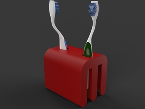 Makerbot Logo Toothbrush Holder