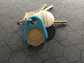 Shopping Cart Coin - Keychain (10 & 20 KR)