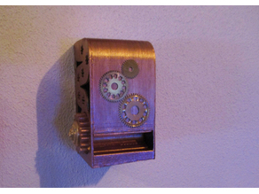 Steampunk Battery Dispenser