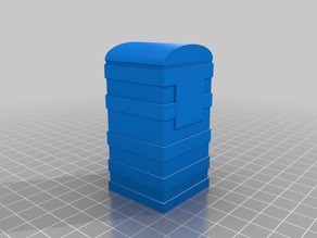 Portable Loo for Slot Tracks or Wargames