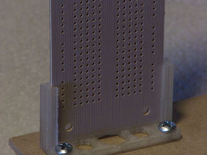 Vertical Mount for Electronic Circuit Prototyping Board