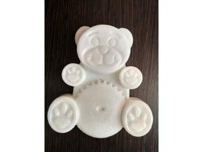 Jelly gummy bear(soap size)