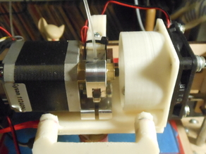 Printrbot Classic fan mount for aluminum extruder