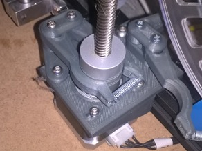 Z-Motor Brake for 3D-printers with NEMA17 steppers