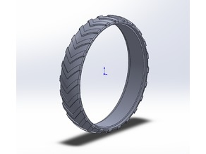 Tyres for kbricks tractor by robkern