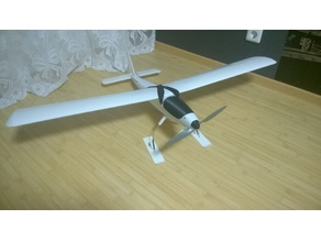 RC Plane Ski