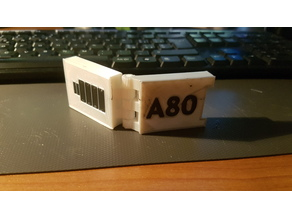 custodia per batterie action cam apeman A80  / A80 action cam apeman battery case