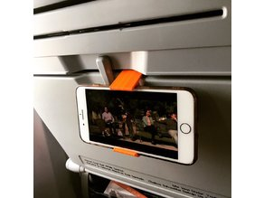 Airplane tray table iPhone 7/8 plus phone holder