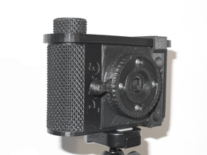 The P6*6W, a Wide Angle 120 film Pinhole Camera