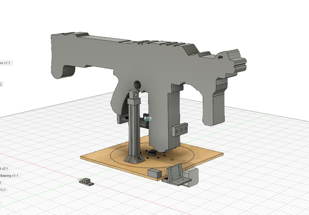 Automated Nerf Sentry Turret by having11 - Thingiverse