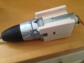 Cordless Drill Motor Gearbox Housing