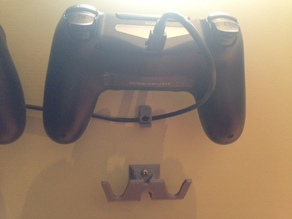 ps4 dualshock 4 controller wall mount holder