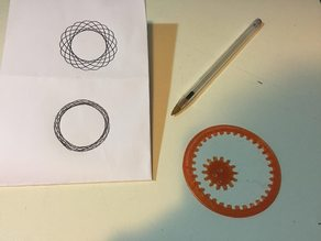 Spirograph - drawing machine Toy - fast/simple One print