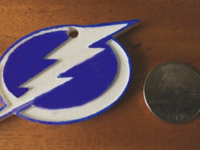 Tampa Bay Lightning Ornament