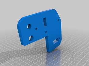Anet A8 Bowden Extruder Motor Mount