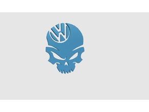 Volkswagen Skull Logo