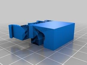 USB Type A socket Din rail mount
