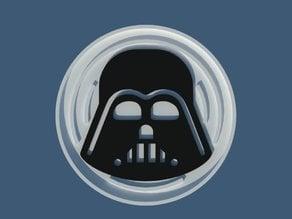 Coasters Star Wars Darth Vader, has 100 mm in diameter. Dual print