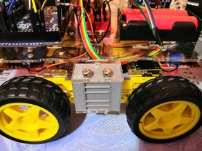 4WD Chassis Side Support Arduino