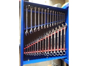 Combination Wrench Organizer Set