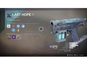Last Hope Destiny 2 Sidearm